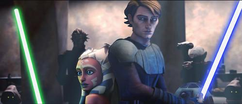 Anakin y Ashoka