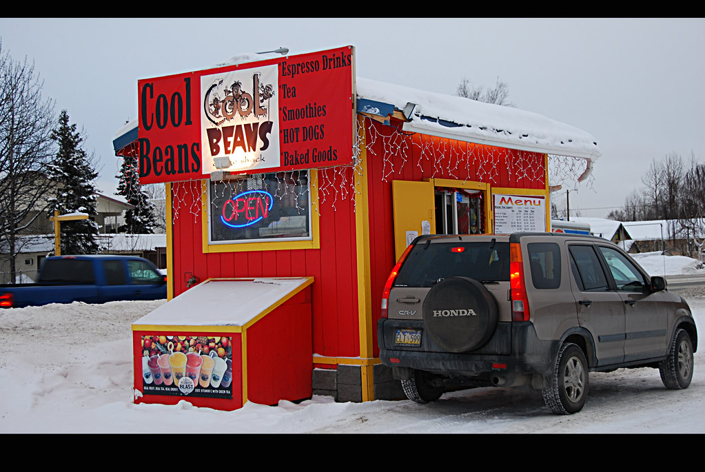 Anchorage Coffee Shacks nş 121 (Tudor nr Wright)