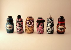 Bottles of Hope made by Pollyhyper.etsy.com