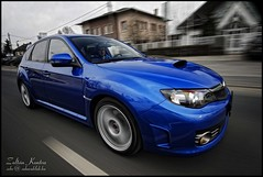 Brand New Subaru Impreza WRX STi 08' (Zek.) Tags: road new blue light work silver grey exterior close angle rally wide glossy subaru mirrored driver gloss polar 2008 brand impreza wrx sti spanking hdr whell 08 hdri tonal rollin foglight polarisation nikond200 svenk sigmaex12244556dg