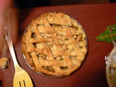 Apple pie at the party