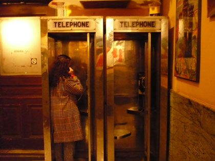 Chelsea Hotel Phonebooths