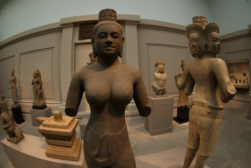 Cambodian sculpture at the Met
