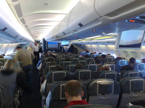 Inside the plane by Frankie Roberto, on Flickr