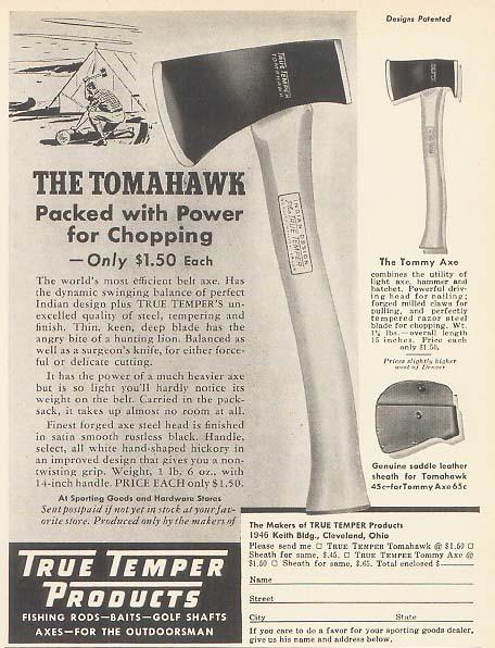 True Temper The Tomahawk
