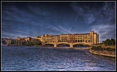 Ritz bridge (unonymous) Tags: bridge vegas architecture landscape florence scenery hdr lakelasvegas lightroom