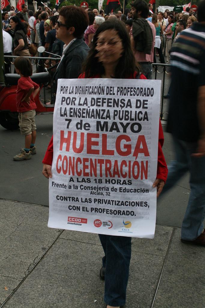 Manifestación contra la privatización 03