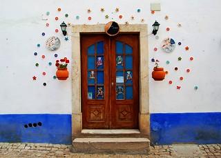 Puerta en Óbidos