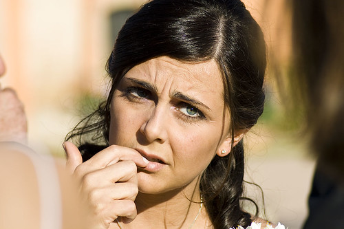 Worried bride by spaceodissey, on Flickr