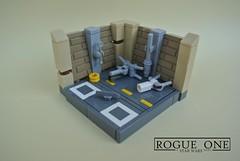 IDSMO - R1 - Yavin IV Rebel Hangar (-Balbo-) Tags: lego moc star wars rogue one olympics ids imperiumdersteine bauwerk balbo