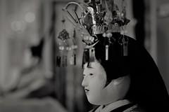 ✪雛飾り③ -愛知県半田市- (m-miki) Tags: nikon d610 japan 雛人形v ひな祭り 桃の節句 雛飾り 白黒 bw 愛知 半田