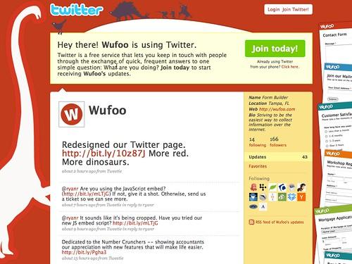 Wufoo on Twitter