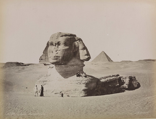 'Le Sphinx Armachis, Caire' (The Sphinx Armachis, Cairo)