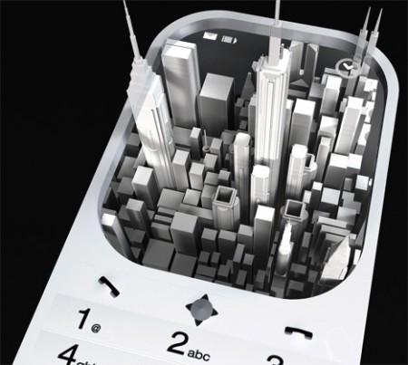 hologram-phone-display