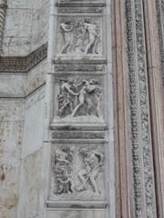 Bologne - basilique San Petronio (Guillaume LMR) Tags: bologna sanpetronio bologne jacopodellaquercia