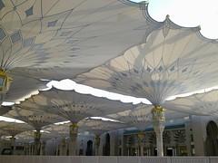 10052011582 (Maha Salah El Din) Tags: mosque umbrellas haram prophet muhammad madinah nabawi pbuh
