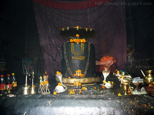 Bharmour Manimahesh Temple Lingam