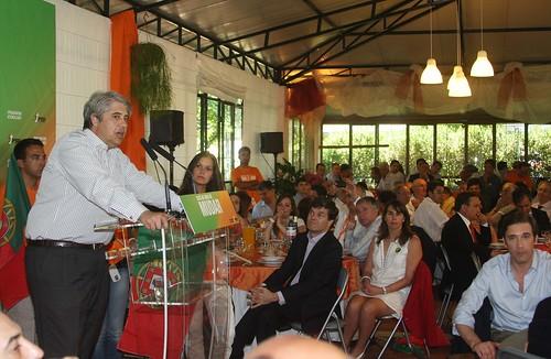Pedro Passos Coelho almoço em Cucujães
