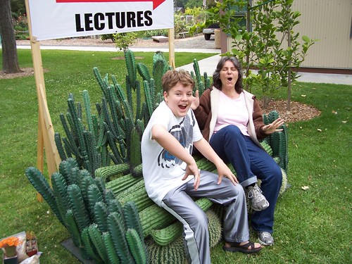 A prickly seat for Rosanne and Joe...