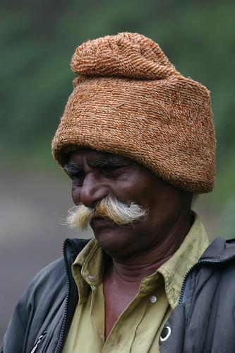 Moustache, Kerala, India