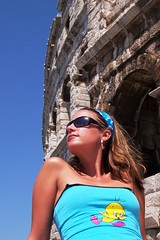 ..honeymoon.. (sponis297s) Tags: summer girl pose model croatia wife highfive tweety amateurs pula vendy abeauty amateurshighfive invitedphotosonly