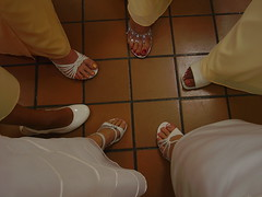 feet (picsbyrita) Tags: wedding feet bride shoes toenails bridemaids cwd cwd392 flowergirlfloor