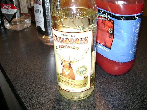 Tequila with a deer on it