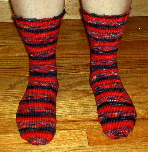 Ravishing Socks - Front View