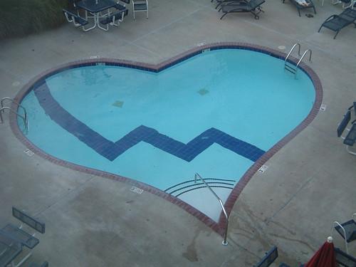 Heart Shaped Pool