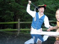 pirate captures fair maiden!