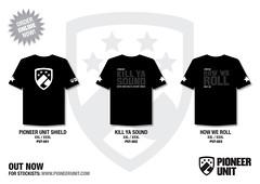 Pioneer Unit T-Shirts