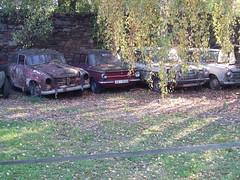 Trip to CZ Oct 2007 (Davydutchy) Tags: ford cortina museum mercedes czech czechrepublic junkyard carparts goliath sr tatra nsu thebiggestgroup chotusice časlav veteranbazar 7pic