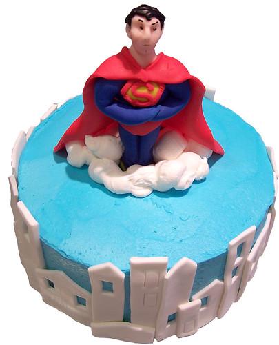 Superman Cake 07