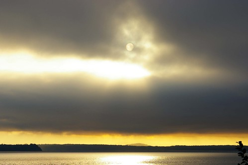 Quadra Island sunrise by bralorne1(Beachhead Photography), on Flickr