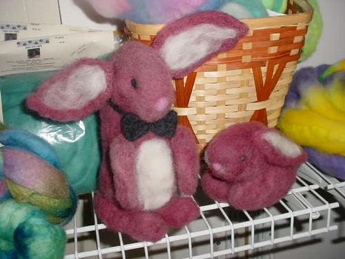 Wild Bunnies Invade Meadows of Dan Yarn Shop