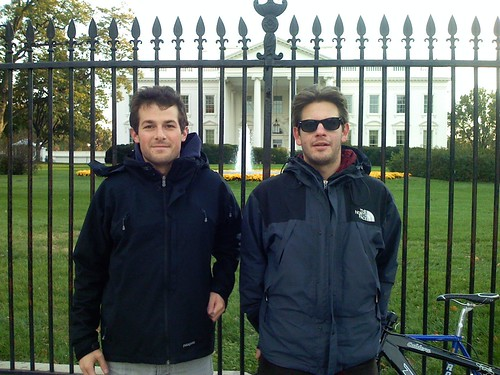 Jacob & Barnett at White House