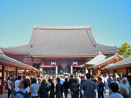 Sensoji, main temple