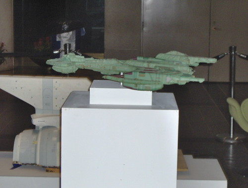 Star Trek Ship Model: Future Klingon Attack Cruiser