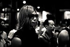 Tokyo nights IX (manganite) Tags: city portrait people urban bw men face sunglasses fashion japan night digital dark geotagged asian japanese tokyo glasses cool nikon asia nightshot tl candid shibuya young style atmosphere guys streetscene fancy  nippon  d200 nikkor dslr nihon kanto stylish 50mmf18 utatafeature manganite nikonstunninggallery geo:lon=139700703 geo:lat=35659972 date:year=2006 date:month=july date:day=8 format:ratio=32