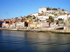 A view of Porto (Piggy Forever) Tags: travel portugal porto zona oporto ribeirinha