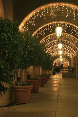 Christmas Lights, Mission Inn, Riverside