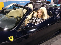 Vroom! Ferrari and Melanie