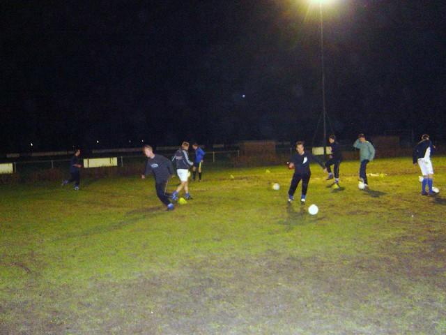 VVS in training 4 dec. 2007