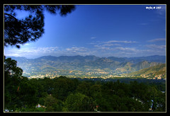 Abbotabad (Perfex) Tags: city blue pakistan sky landscape town valley abbotabad perfex aplusphoto