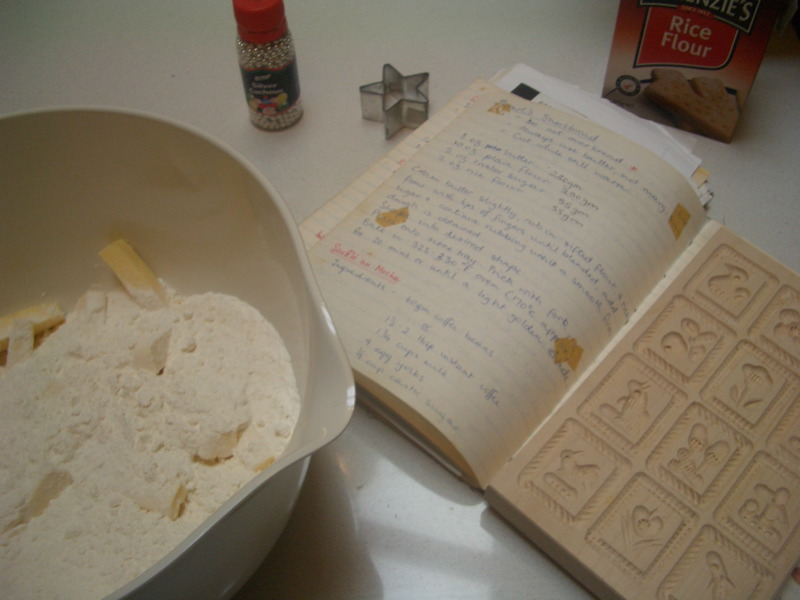 Pearl's shortbread recipe