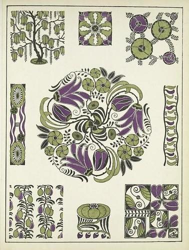 Art Deco Vignettes - Henri Gillet 1922 i