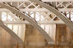 Under Blackfriars Bridge (again) (felinebeastie) Tags: longexposure thames night river