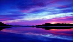 (Meredith_Farmer) Tags: pink blue winter sunset sky reflection beach nature water yellow oregon landscape outside outdoors coast nikon pacific dusk availablelight or horizon kitlens naturallight pacificocean oregoncoast westcoast highway101 naturallighting 1855mmkitlens sandlake d40 whalenisland nikond40 vastopenskies