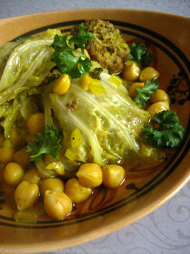 Cabbage Tagine