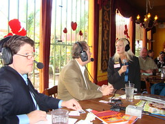 "Kevin Price, Calvin Brown, and Kathy Bowersox, Houston Business Show Live Broadcast at ""El Tiempo"" Restaurant (StealthMarketer) Tags: kevinprice houstonbusinessshow andyvaladez marketingdynamics houstonbusiness businessradio mikealexander jennifercolon robbieadair donaldleonard houstonneighborhoods stevelevine houstonrealestatetoday virginiagrace carolebaker joestiles jimoneill foxnews johodell universityofhouston bauercollegeofbusiness"